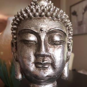 "10"" Buddha Head Statue Home Decor"